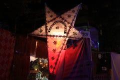 Χριστουγεννιάτικο δέντρο στην Ινδία στη ημέρα των Χριστουγέννων Στοκ εικόνα με δικαίωμα ελεύθερης χρήσης