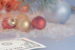 χριστουγεννιάτικο δέντρο σφαιρών στοκ εικόνες