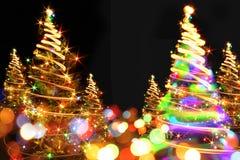 χριστουγεννιάτικο δέντρο χρώματος Στοκ εικόνα με δικαίωμα ελεύθερης χρήσης