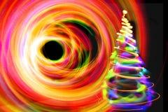 χριστουγεννιάτικο δέντρο χρώματος Στοκ φωτογραφία με δικαίωμα ελεύθερης χρήσης