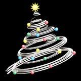 χριστουγεννιάτικο δέντρο απεικόνιση αποθεμάτων