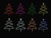 Χριστουγεννιάτικο δέντρο. Στοκ φωτογραφίες με δικαίωμα ελεύθερης χρήσης
