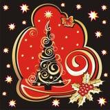 χριστουγεννιάτικο δέντρ&o Στοκ εικόνα με δικαίωμα ελεύθερης χρήσης