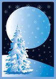 χριστουγεννιάτικο δέντρ&o Στοκ εικόνες με δικαίωμα ελεύθερης χρήσης