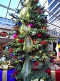χριστουγεννιάτικο δέντρ&o Στοκ Εικόνα