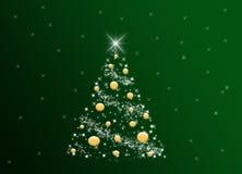 χριστουγεννιάτικο δέντρ&om ελεύθερη απεικόνιση δικαιώματος