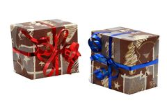 χριστουγεννιάτικο δώρο Στοκ εικόνα με δικαίωμα ελεύθερης χρήσης