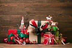 χριστουγεννιάτικο δώρο weihnachtspakete Στοκ εικόνα με δικαίωμα ελεύθερης χρήσης