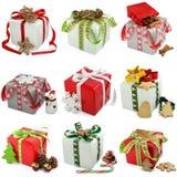 Χριστουγεννιάτικο δώρο Στοκ Φωτογραφίες