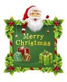 Χριστούγεννα Άγιου Βασίλη Στοκ φωτογραφία με δικαίωμα ελεύθερης χρήσης