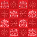 Χριστούγεννα άνευ ραφής ελεύθερη απεικόνιση δικαιώματος