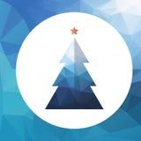 Χριστούγεννα δέντρο-01 Στοκ εικόνα με δικαίωμα ελεύθερης χρήσης