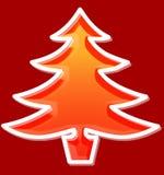 Χριστούγεννα δέντρων Στοκ Εικόνες