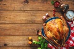 Χριστούγεννα ή ημέρα των ευχαριστιών Τουρκία Στοκ εικόνες με δικαίωμα ελεύθερης χρήσης