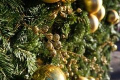 Χριστούγεννα ή νέα υπόβαθρα έτους στοκ εικόνες με δικαίωμα ελεύθερης χρήσης