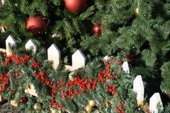 Χριστούγεννα ή νέα υπόβαθρα έτους Στοκ Εικόνες