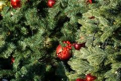 Χριστούγεννα ή νέα υπόβαθρα έτους Στοκ εικόνα με δικαίωμα ελεύθερης χρήσης