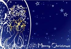 Χριστούγεννα αγγέλου Στοκ φωτογραφίες με δικαίωμα ελεύθερης χρήσης