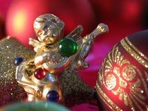 Χριστούγεννα αγγέλου Στοκ Φωτογραφίες