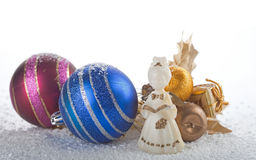 Χριστούγεννα αγγέλου Στοκ εικόνα με δικαίωμα ελεύθερης χρήσης