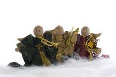 Χριστούγεννα αγγέλων Στοκ εικόνες με δικαίωμα ελεύθερης χρήσης