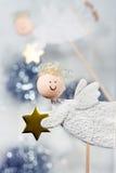 Χριστούγεννα αγγέλων στοκ εικόνες