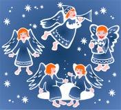 Χριστούγεννα αγγέλων Στοκ Φωτογραφίες