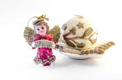 Χριστούγεννα αγγέλου Στοκ εικόνες με δικαίωμα ελεύθερης χρήσης
