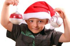 Χριστούγεννα αγοριών λίγα Στοκ φωτογραφία με δικαίωμα ελεύθερης χρήσης