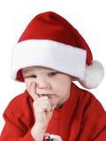 Χριστούγεννα αγοριών Στοκ φωτογραφία με δικαίωμα ελεύθερης χρήσης