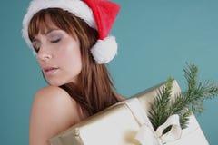 Χριστούγεννα αισθησιακά Στοκ Εικόνες