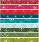 Χριστούγεννα αναδρομικά Στοκ Εικόνες