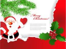 Χριστούγεννα ανασκοπήσ&epsilo Στοκ Εικόνα