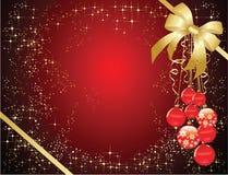 Χριστούγεννα ανασκοπήσ&epsilo Στοκ Φωτογραφίες