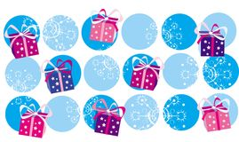 Χριστούγεννα ανασκόπησης ελεύθερη απεικόνιση δικαιώματος
