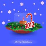 Χριστούγεννα ανασκόπηση&sigm Στοκ Εικόνα