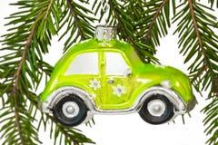 Χριστούγεννα αυτοκινήτω Στοκ Εικόνες