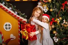 Χριστούγεννα αδελφών Στοκ Εικόνες