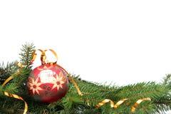 Χριστούγεννα βολβών στοκ εικόνα με δικαίωμα ελεύθερης χρήσης