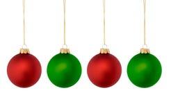 Χριστούγεννα βολβών Στοκ Εικόνα