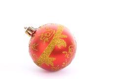 Χριστούγεννα βολβών στοκ εικόνες με δικαίωμα ελεύθερης χρήσης
