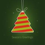 Χριστούγεννα δέντρων Στοκ φωτογραφίες με δικαίωμα ελεύθερης χρήσης