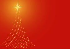 Χριστούγεννα δέντρων Στοκ Εικόνα
