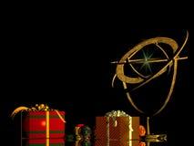 Χριστούγεννα διακοπών καρτών ελεύθερη απεικόνιση δικαιώματος