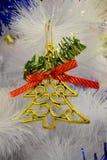Χριστούγεννα διακοσμήσεων για το έμβλημα και το φυλλάδιό σας Στοκ Εικόνα