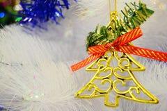 Χριστούγεννα διακοσμήσεων για το έμβλημα και το φυλλάδιό σας Στοκ εικόνες με δικαίωμα ελεύθερης χρήσης