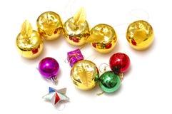 Χριστούγεννα διακοσμήσ&epsi Στοκ εικόνες με δικαίωμα ελεύθερης χρήσης