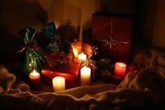 Χριστούγεννα δώρων Στοκ εικόνα με δικαίωμα ελεύθερης χρήσης
