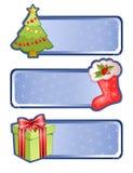 Χριστούγεννα εμβλημάτων απεικόνιση αποθεμάτων