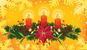 Χριστούγεννα εμβλημάτων στοκ φωτογραφία